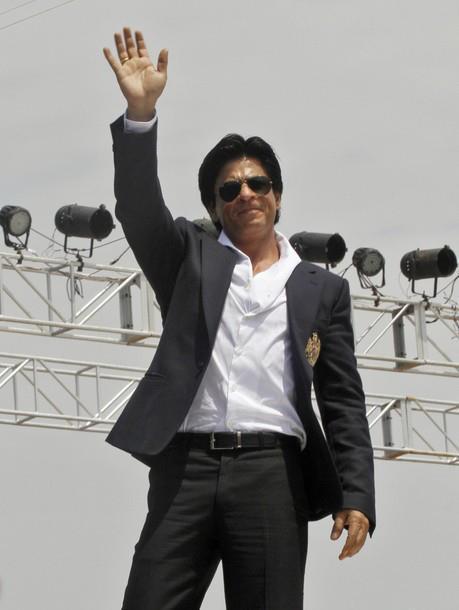 SRK in Kolkata