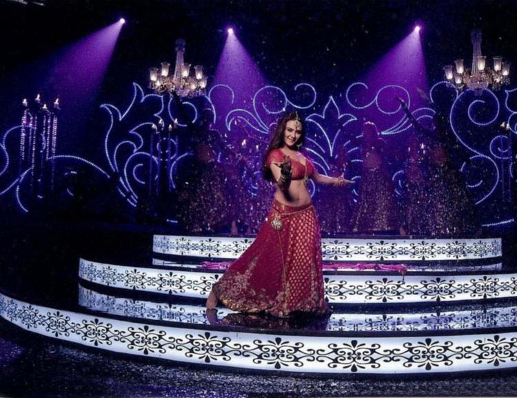 Preity Zinta Perform On Stage