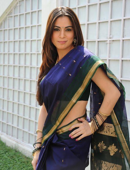 Shraddha Arya Awesome Still In Saree