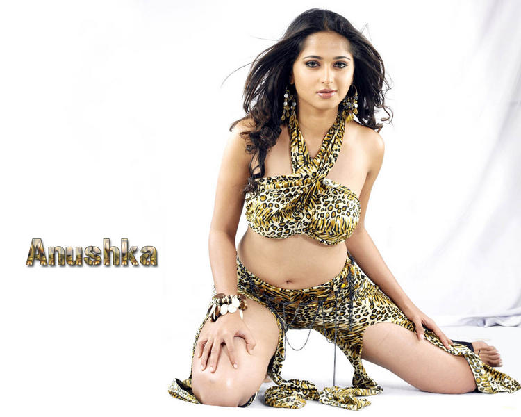 Stunning Babe Anushka Shetty Sexiest Wallpaper