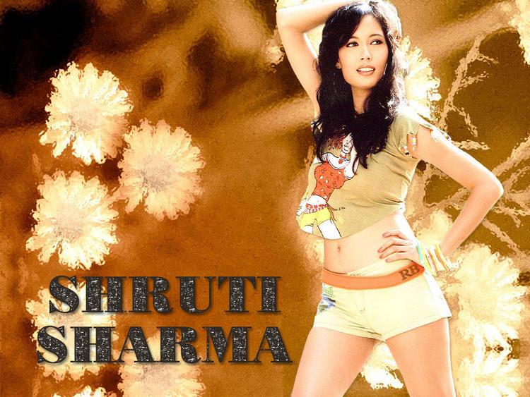 Shruti Sharma Hot Wallpaper In Mini Dress