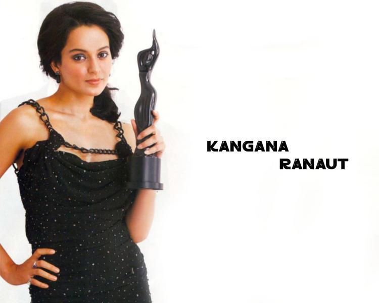 Kangana Ranaut Wallpaper With Award