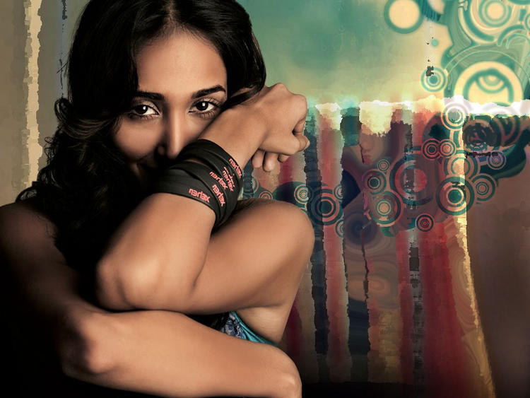 Jiah Khan Sexy Eyes Look Still