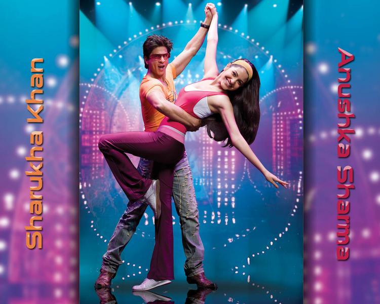 Sharukh and Anushka Sexy Dance Still In Rab Ne Bana Di Jodi