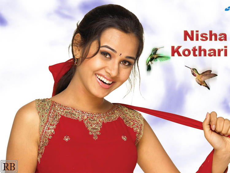 Cute Nisha Kothari Sweet Wallpaper