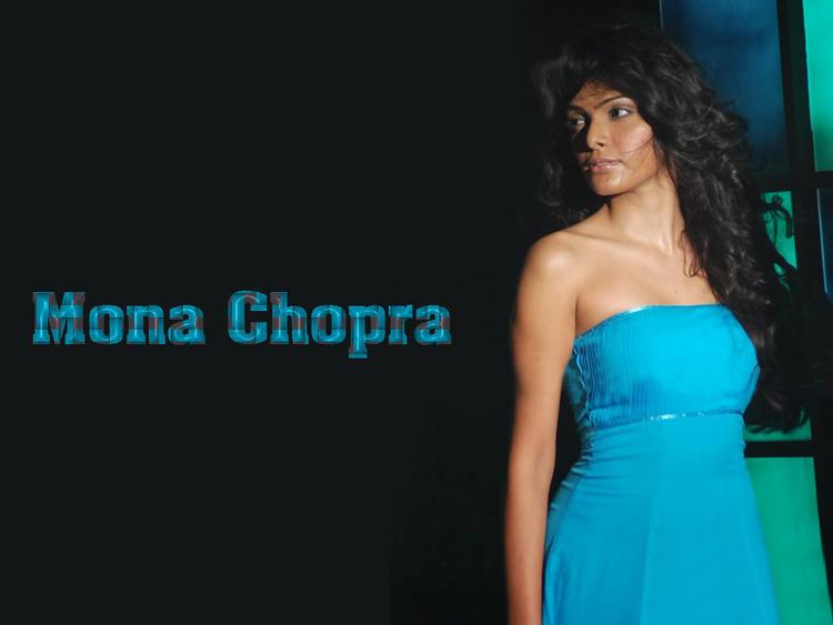 Mona Chopra Strapless Dress Hot Wallpaper