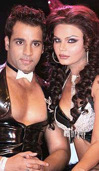 Rakhi Sawant and Abhishek Awasthi Glamour Photo