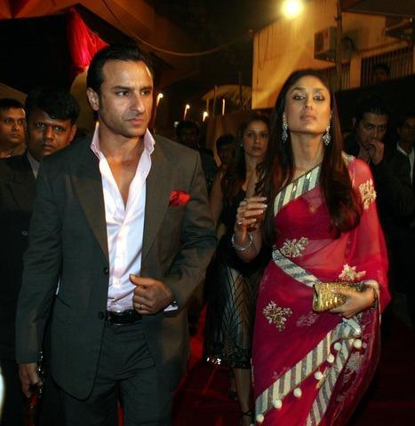 Saif Ali Khan and Kareena Latest Still