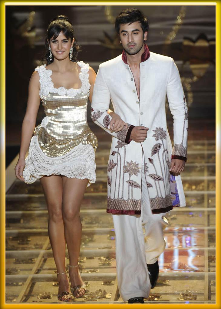 Ranbir and Katrina Ramp Walk Sexy Still