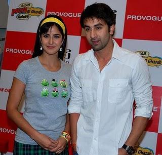 Ranbir Kapoor and Katrina Poses For Photo Shoot