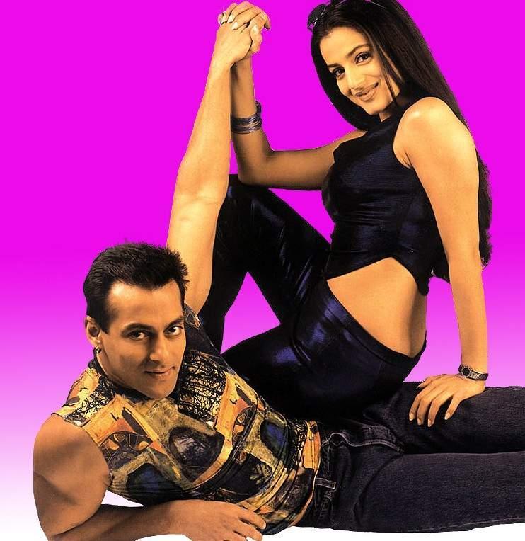 Salman Khan and Amisha Glamour Photo