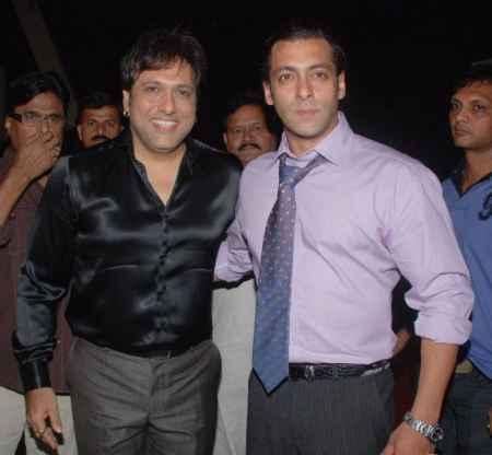 Salman Khan and Govinda Latest Photo