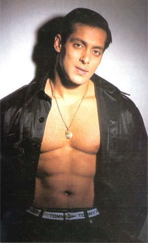 Salman Khan Opening Dress Sexy Still