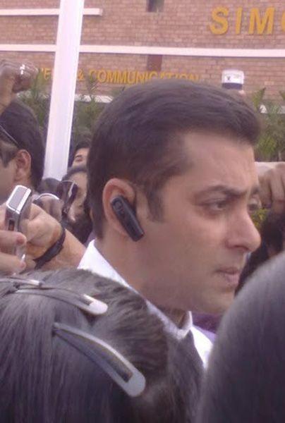 Salman On The Sets Of Bodyguard