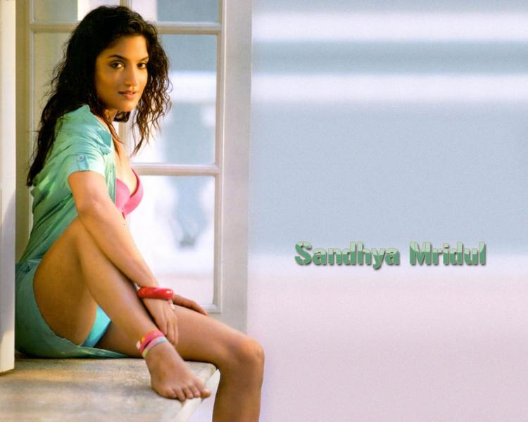 Sandhya Mridul Sexy Busty Thighs Wallpaper