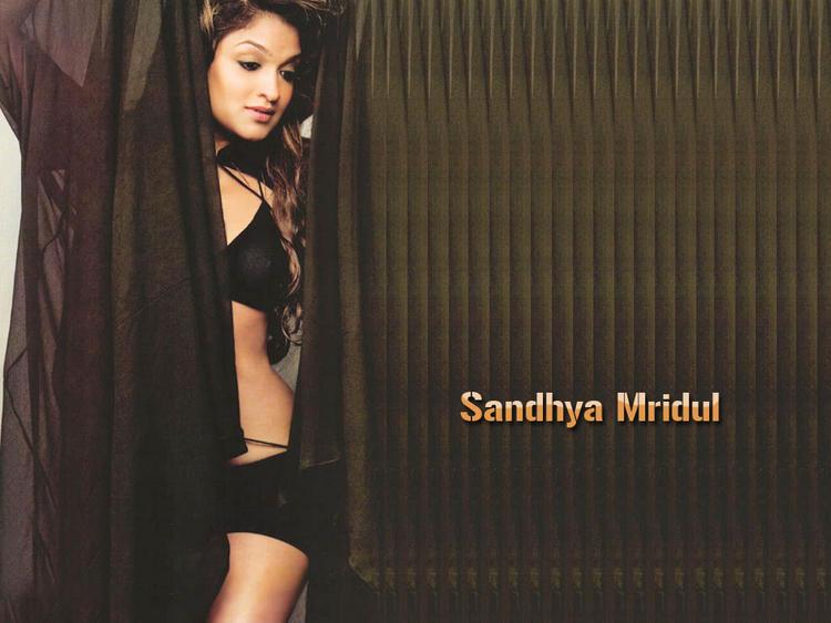 Sandhya Mridul Two Piece Dress Hot Wallpaper