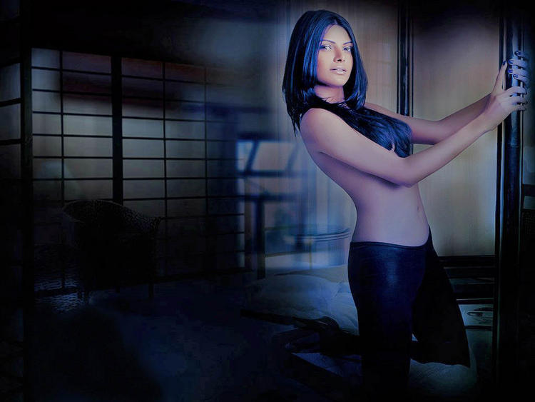 Mona Chopra Topless Dress Hot Photo Shoot