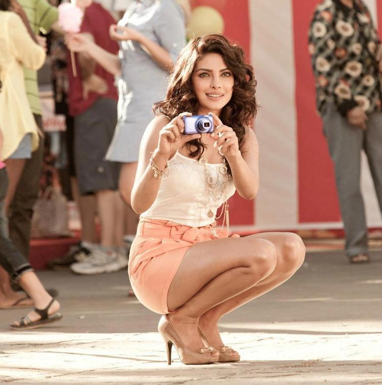 Priyanka Chopra Poses For Nikon TVC Shoot