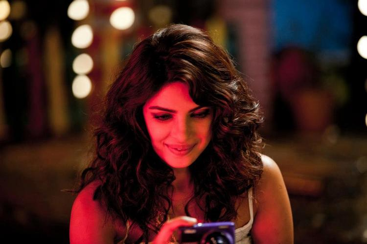 Priyanka Chopra On Sets Of Nikon TVC Shoot