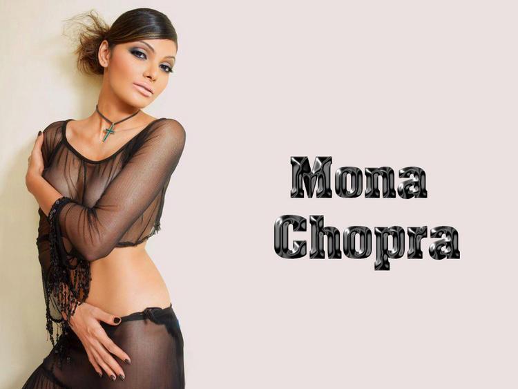 Mona Chopra Wet Look Wallpaper