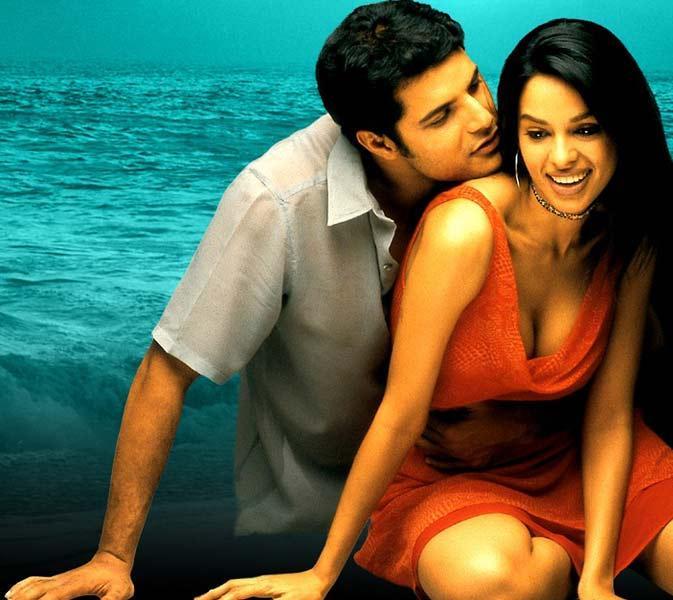 Mallika Sherawat and Himanshu Malik Hot Kissing Pic