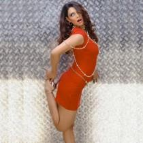Shweta Bhardwaj Red Dress Hot Photo