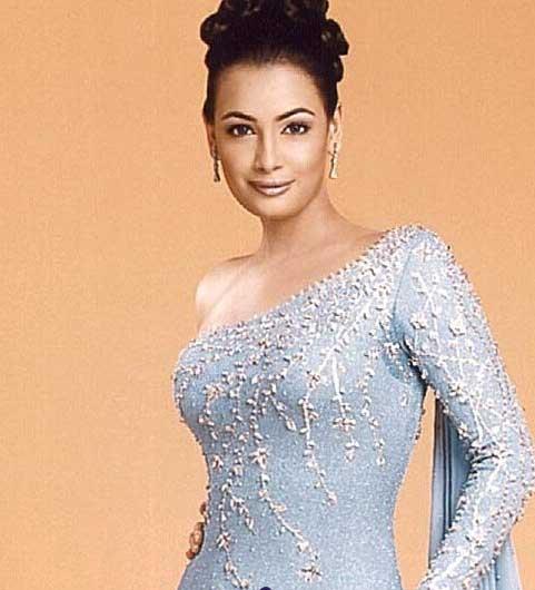 Diya Mirza Sweet and Sexy Look Wallpaper
