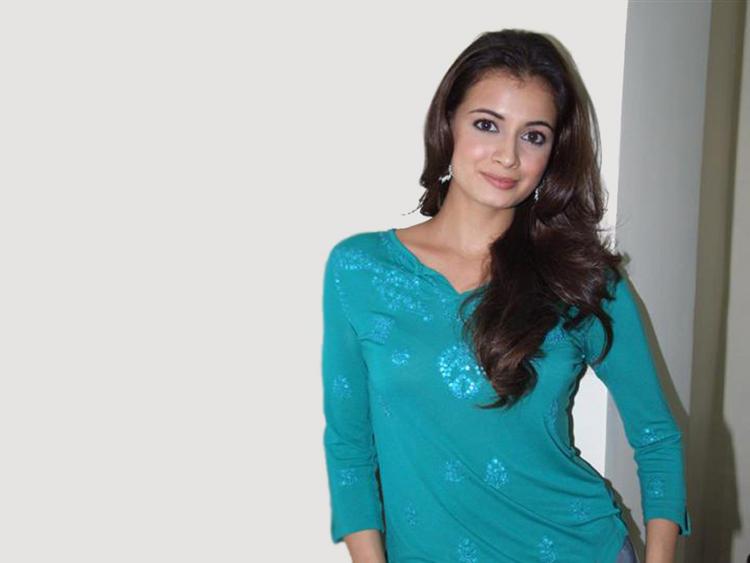 Diya Mirza Sizzling Glowing Still