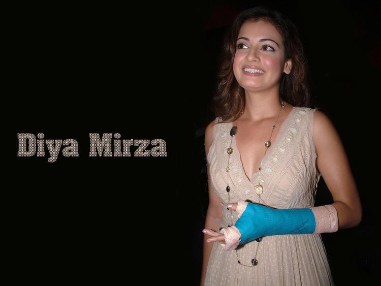 Diya Mirza Smiling Face Still
