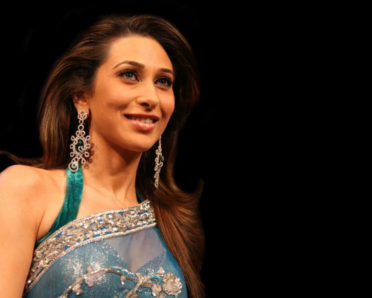 Karishma Kapoor Gorgeous Pic In Saree