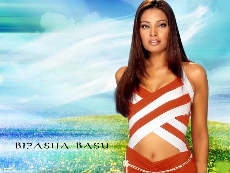 Bipasha Basu Hot Navel Expose Cool Wallpaper
