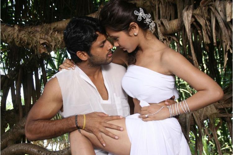 Priyanka Kothari And Nitin Reddy In Agyaat Movie