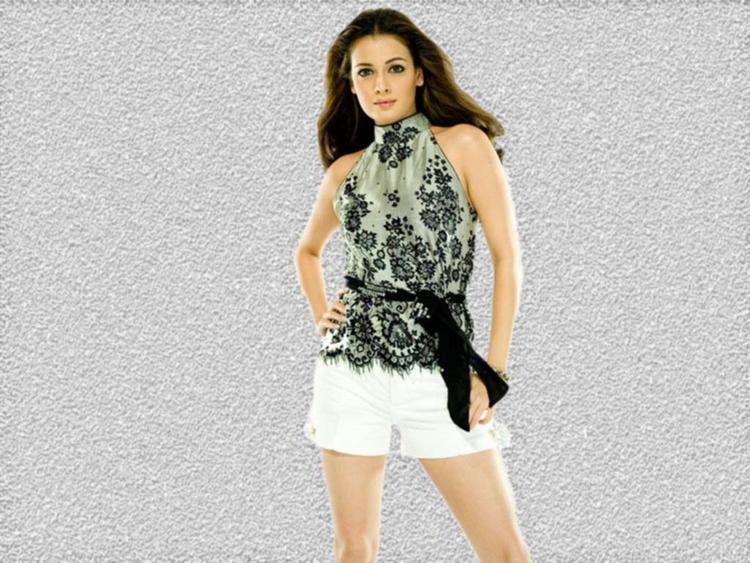Diya Mirza Hot Pose Wallpaper
