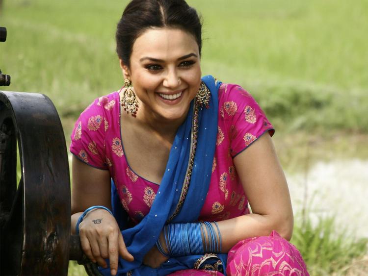 Preity Zinta In Heroes Movie