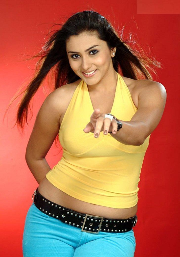 Namitha yellow Tops Sexy Still