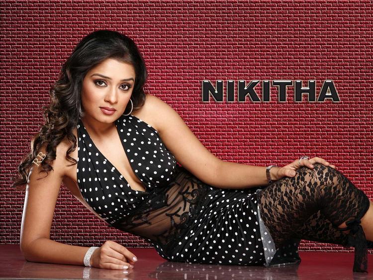 Spicy Hot Nikitha Wallpaper