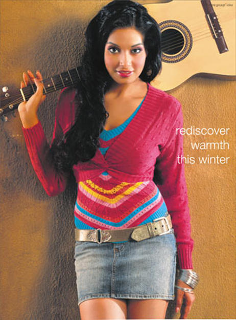 Bipasha Basu Stylist Photo Shoot With Guitar