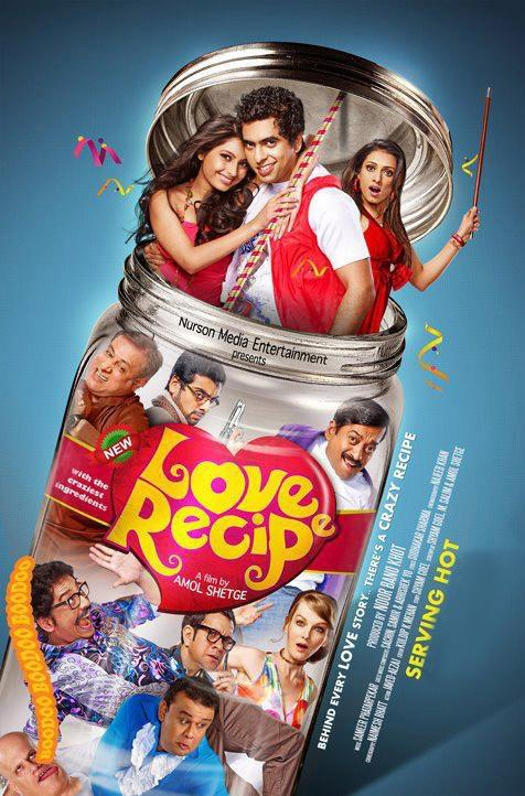 Love Recipe Movie First Look Poster
