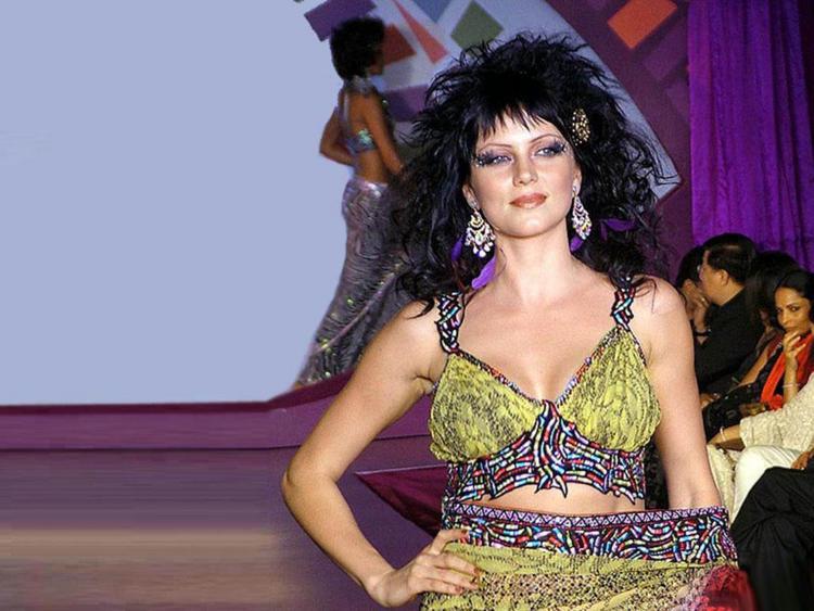 Yana Gupta Rock Hair Style Pic