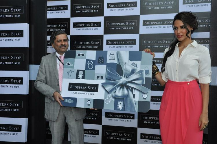 Govind Shrikhande and Neha Launches Shoppers Stop Gift Card