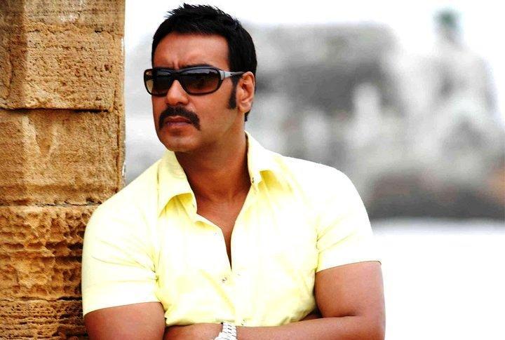Ajay Devgan Cute Stylist Pic Wearing Goggles