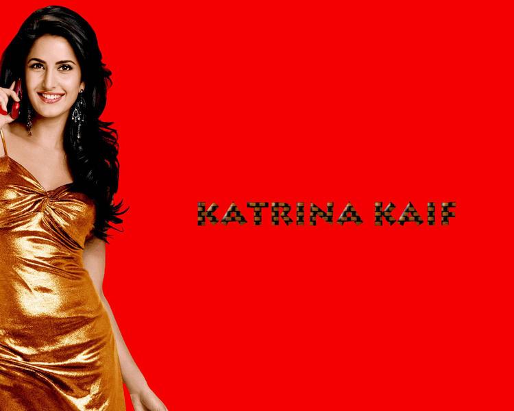 Charming Actress Katrina Kaif Gorgeous Wallpaper