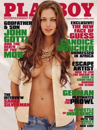 Playboy Cover Girl Candice Boucher Opening Dress Pic