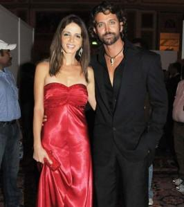 Hrithik Roshan and Suzzane Latest Gorgeous Pic