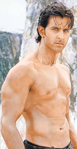 Hrithik Roshan Shirtless Hot Stunning Pic