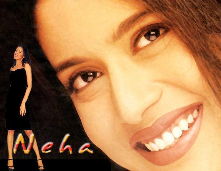 Neha Bajpai Sweet Smiling Beautiful Wallpaper