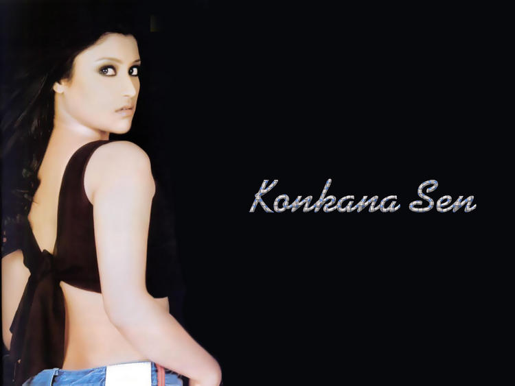 Konkona Sen Dazzling Look Wallpaper