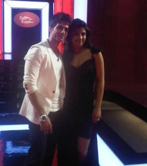 Shahid Kapoor With Priyanka Chopra On Koffee With Karan Show