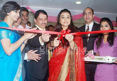 Vidya Balan Launches Seven Hills Cosmetic Clinic