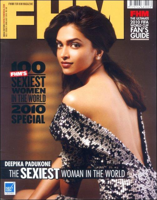 Deepika Padukone FHM Magazine Sexiest Still